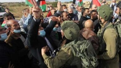 100 Palestinian protesters injured in West Bank clashes