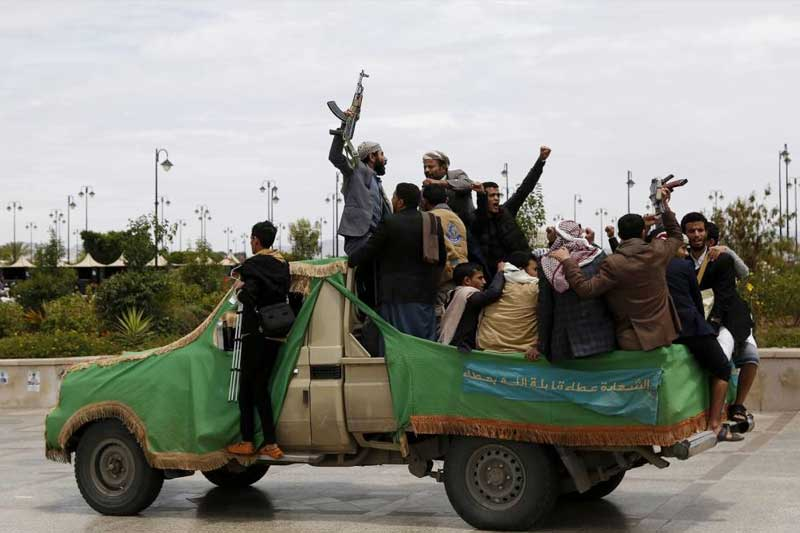 Houthis capture key areas in central Yemen