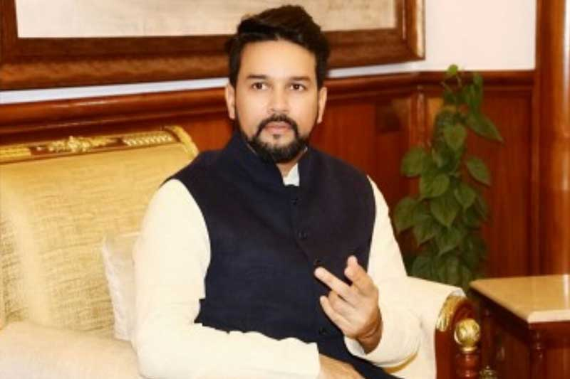 Javelin will become as popular as cricket bat: Sports Minister Anurag Thakur