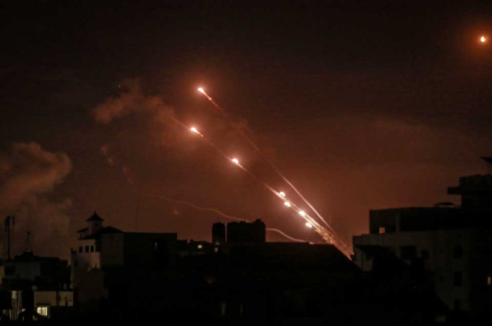 Rockets Fired at Israel from Gaza: Military