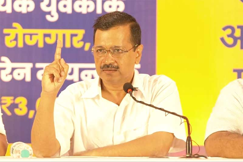 Kejriwal Promises 80 pc Jobs for Locals in Goa, If Voted to Power