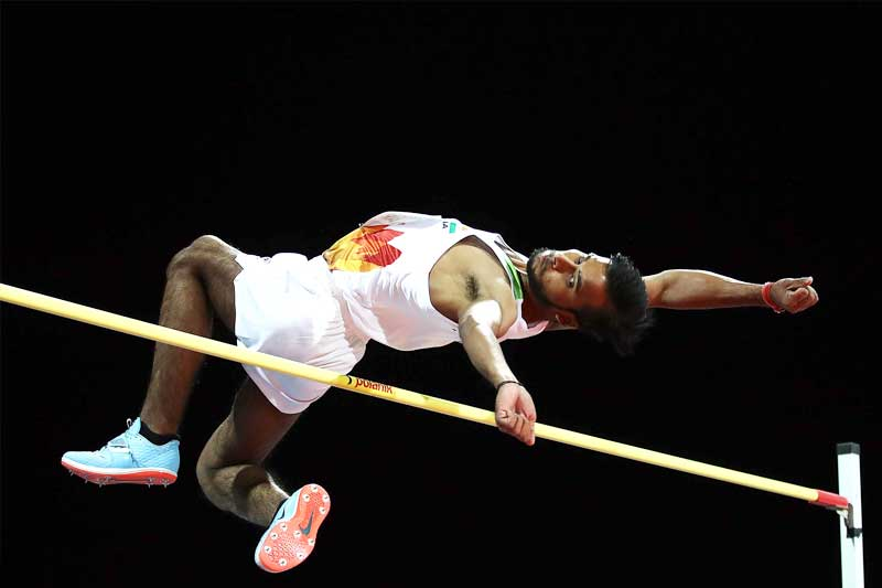 Kumar was engaged in a raging battle with Great Britain's Jonathan Broom-Edwards and Poland's Maciel Lepiato from 1.97 to 2.04 metres. Lepiato failed to clear 2.07 in three attempts and was left behind.