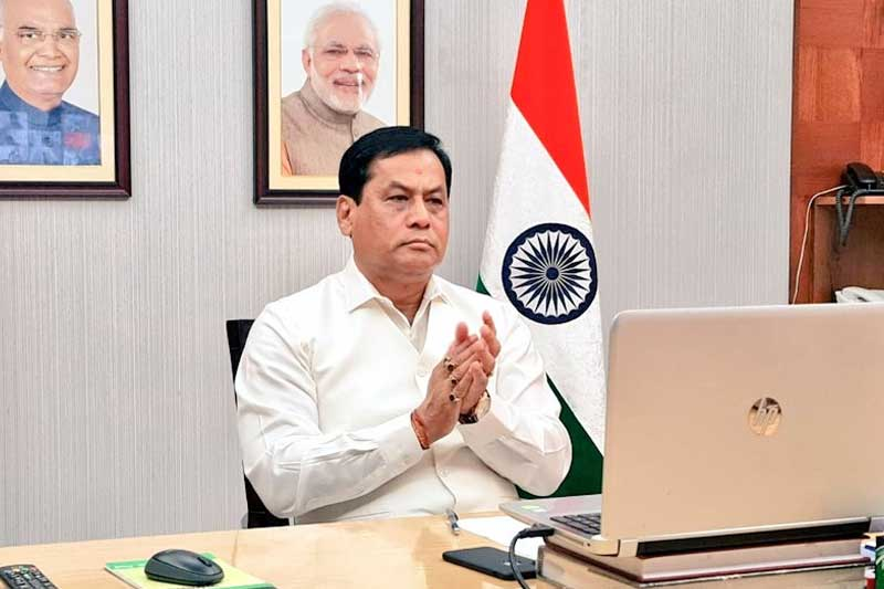 Union Minister Sonowal elected unopposed to Rajya Sabha