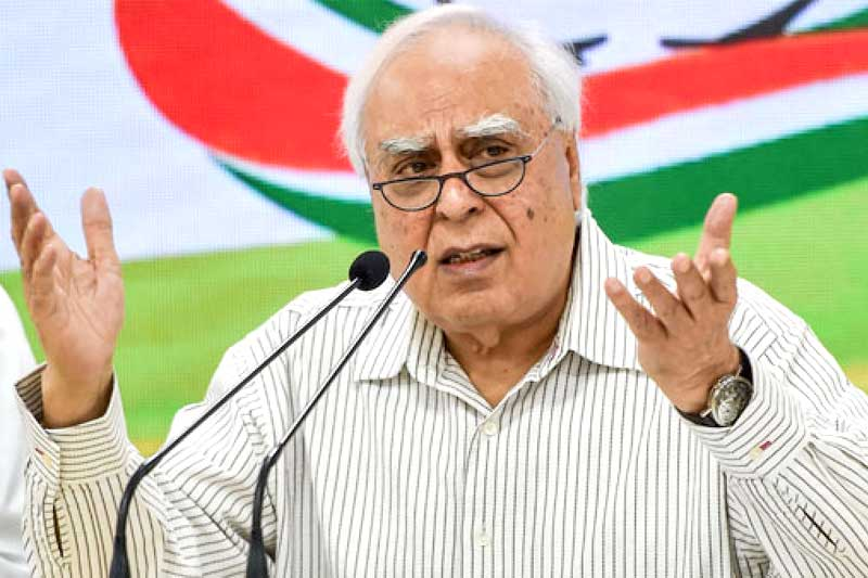 Who is taking decisions in Congress, asks Sibal