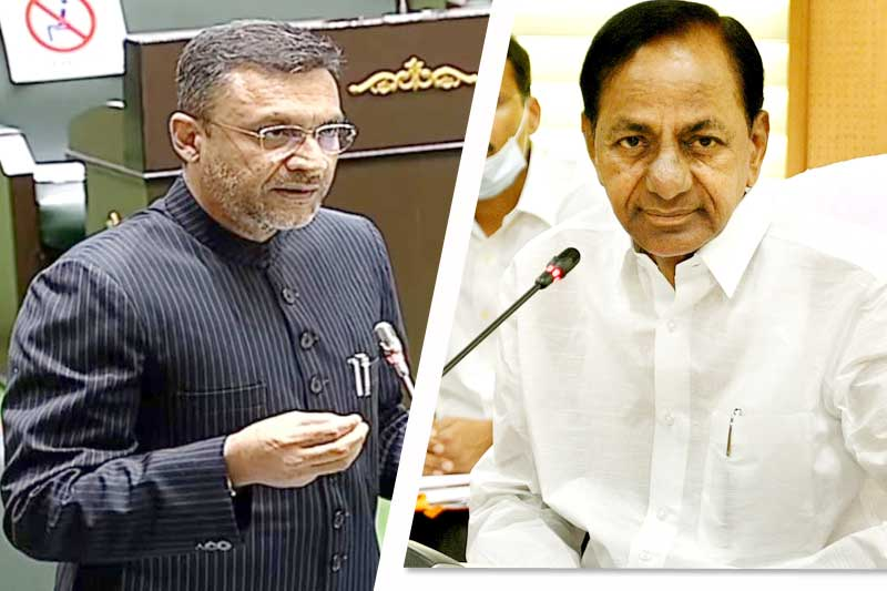KCR Announced CB-CID Inquiry on Encroachment Of Wakf Lands