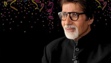 """To ring in his birthday, Big B shared a picture of himself, but he seemed to have got confused about his age and wrote: """"Walking into the 80th."""""""
