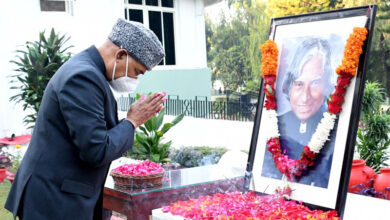 Tributes pour in on Kalam's 90th birth anniversary