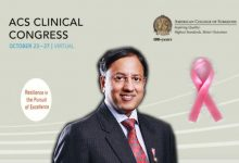 Another rare honour for breast cancer surgeon Raghu Ram