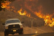 Wildfire in southern California triggers evacuation orders
