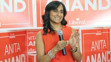 Canada's first Hindu minister Anita Anand gets defence portfolio