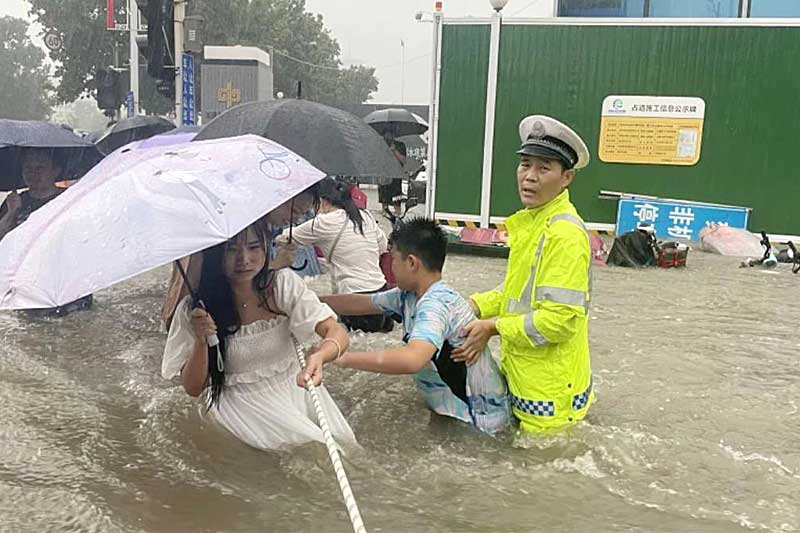 Heavy rain affects over 16,000 in China