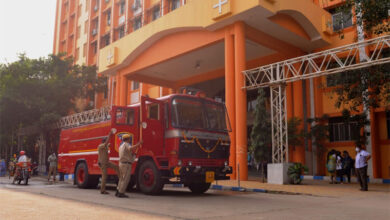 Fire Accident in Gandhi Hospital Due To Short Circuit