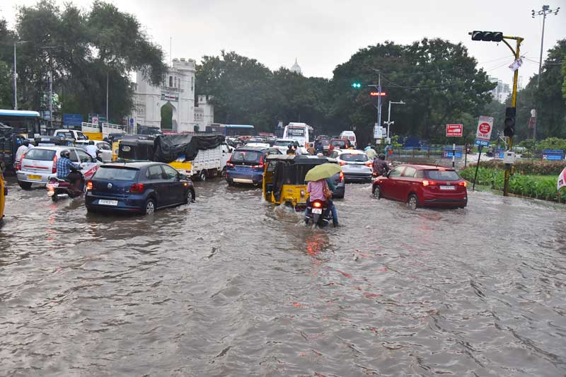 Thunderstorm Adds to Woes of Rain-Hit Hyderabad
