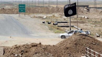 IS-K flags hoisted in Afghan province