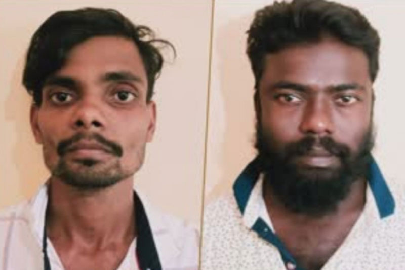 Two arrested for raping a minor girl in Karnataka.