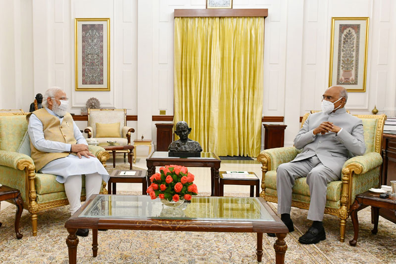 President Kovind turns 76 today; PM, other leaders extend wishes