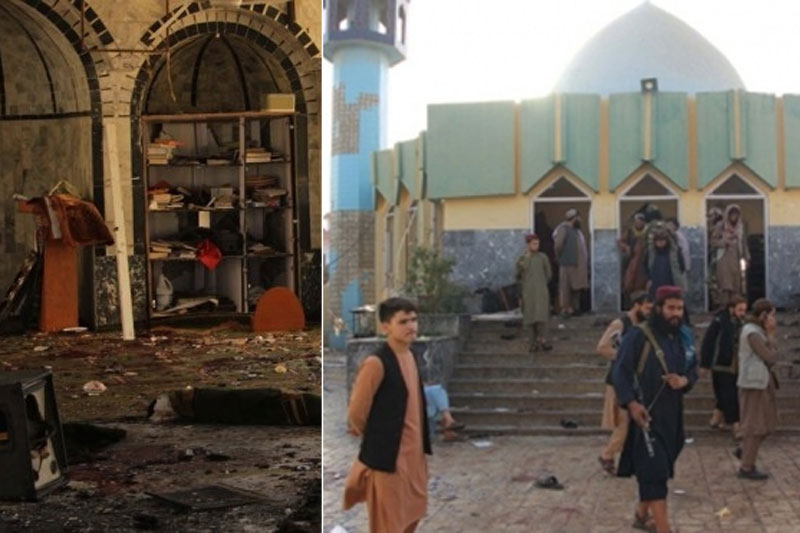 IS claims responsibility for Afghan mosque bombing