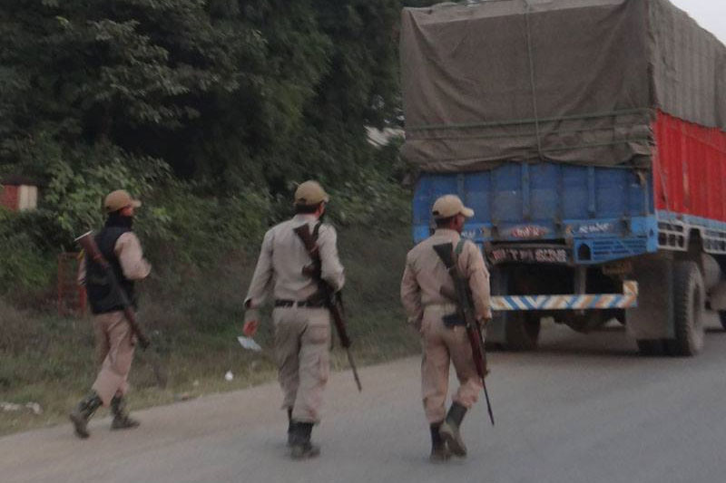 Four insurgents killed in Manipur