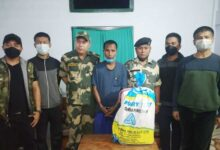 BSF seizes drugs worth Rs 6 cr, one held in Mizoram