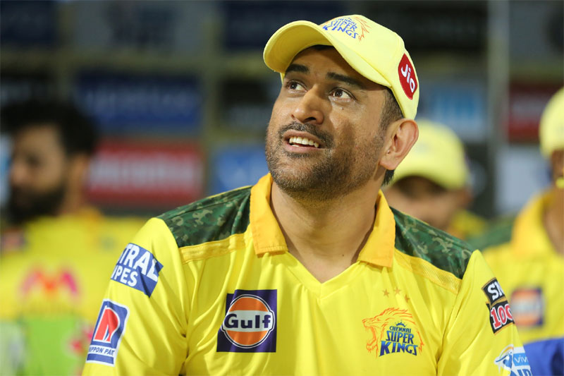 Dhoni to Don CSK Jersey for One more Year