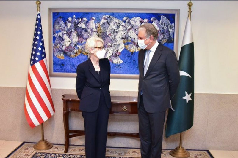 Pak FM, US Deputy Secy of State discuss Afghan situation, bilateral ties