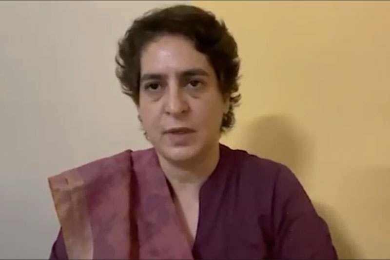 Priyanka releases video, questions Modi over not sacking minister