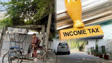 Rickshaw puller in UP gets I-T notice for Rs 3 crore