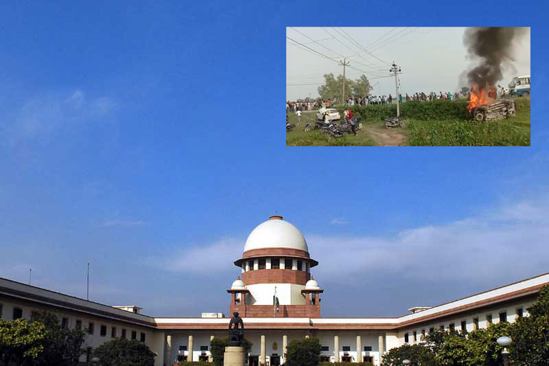 Not satisfied with action of state: SC on UP govt's probe in Lakhimpur Kheri violence
