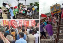 Rail roko agitation: Train services disrupted at 30 places