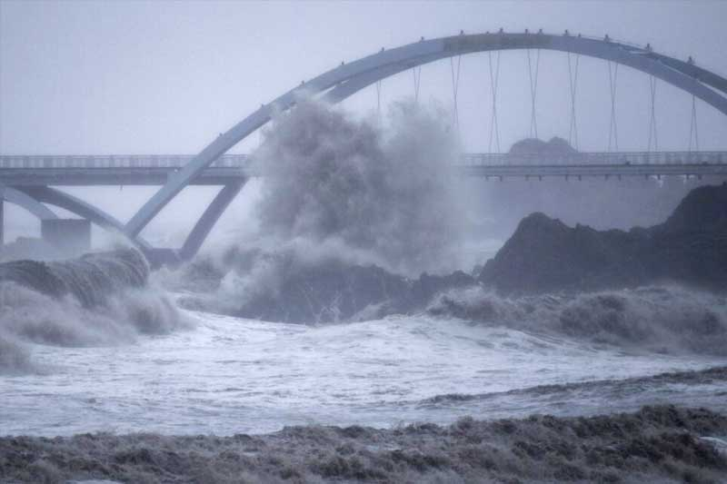 China braces for strong winds, rain as typhoon Kompasu approaches