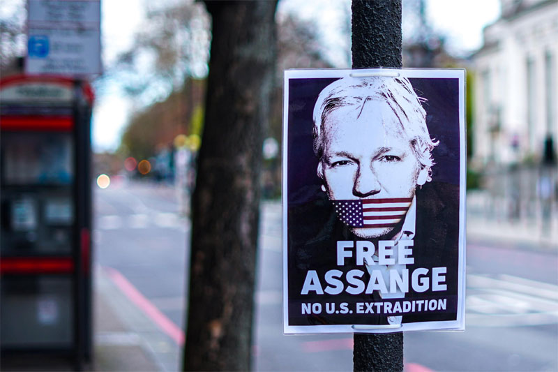 WikiLeaks turns 15 with Founder Assange Behind Bars as Threat to Powers that be